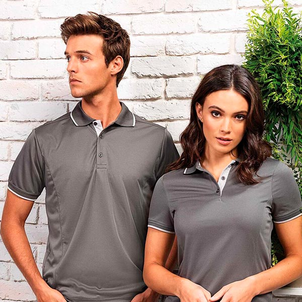POLO COOLCHECKER - HOMME&FEMME