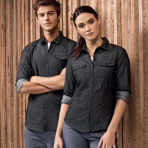 chemise en jean personnalisable