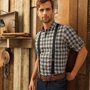 chemise à carreaux personnalisation
